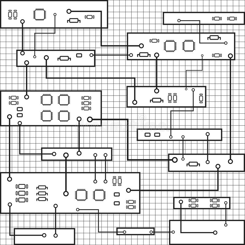 Circuit Board Planet Eps 10