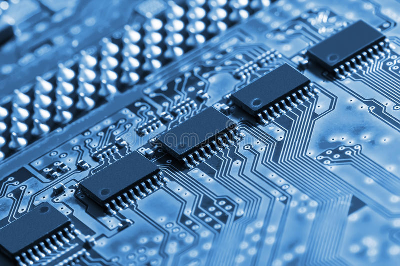Download Circuit Board stock photo. Image of semiconductor, elements - 35603560