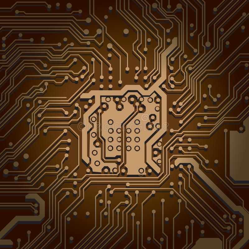 Circuit board background texture Computer technology. Technical. Circuit board background texture. Computer technology. Technical illustrtion vector illustration