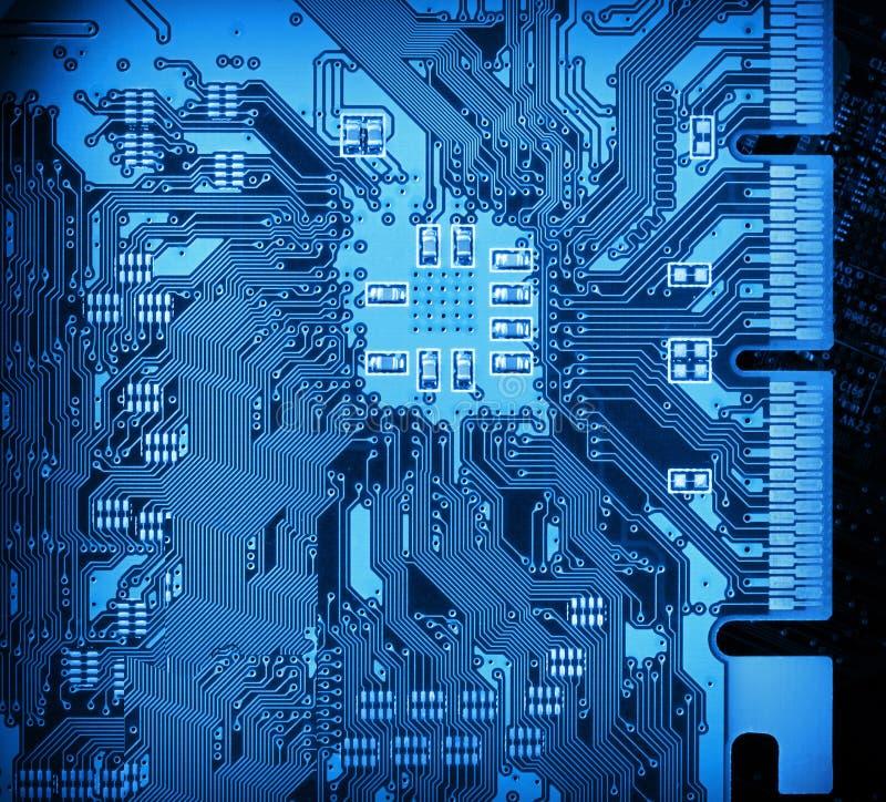 Circuit board closeup background. Computer circuit board closeup background royalty free stock photos