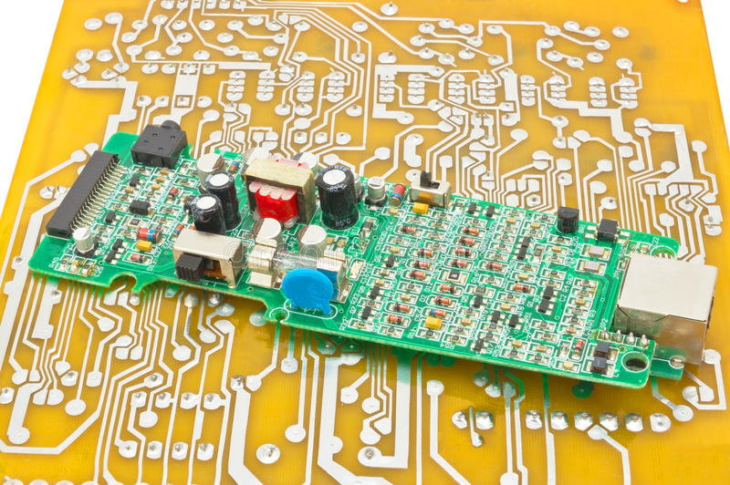 Download Circuit board stock image. Image of information, chip - 32600699