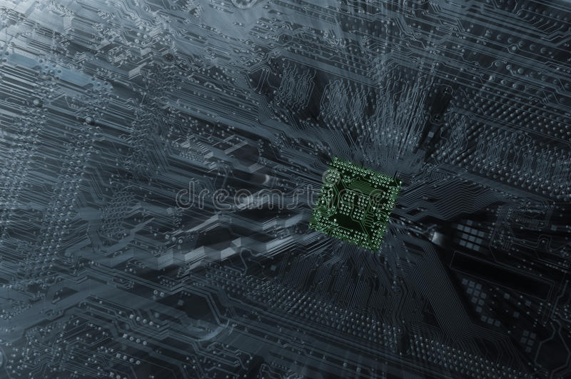 Download Circuit-board And Componants Stock Image - Image of force, microchip: 27763087