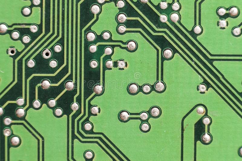Circuit board. Electronic computer hardware technology. Motherboard digital chip. Tech science background. Integrated stock images