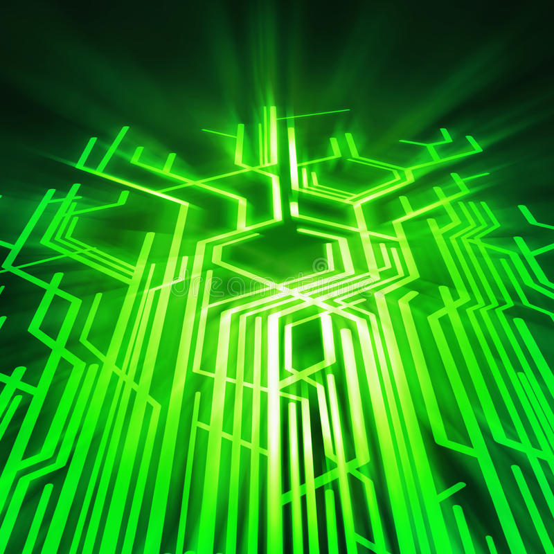 Circuit board graphic stock illustration. Illustration of hardware ...