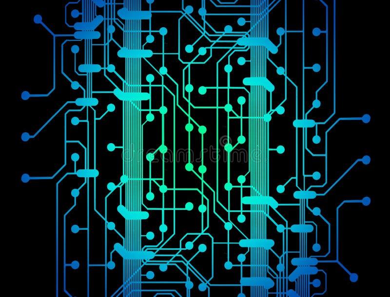 Circuit board lines stock illustration. Illustration of data - 5907432
