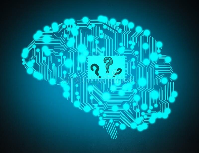 Risultati immagini per brain question mark