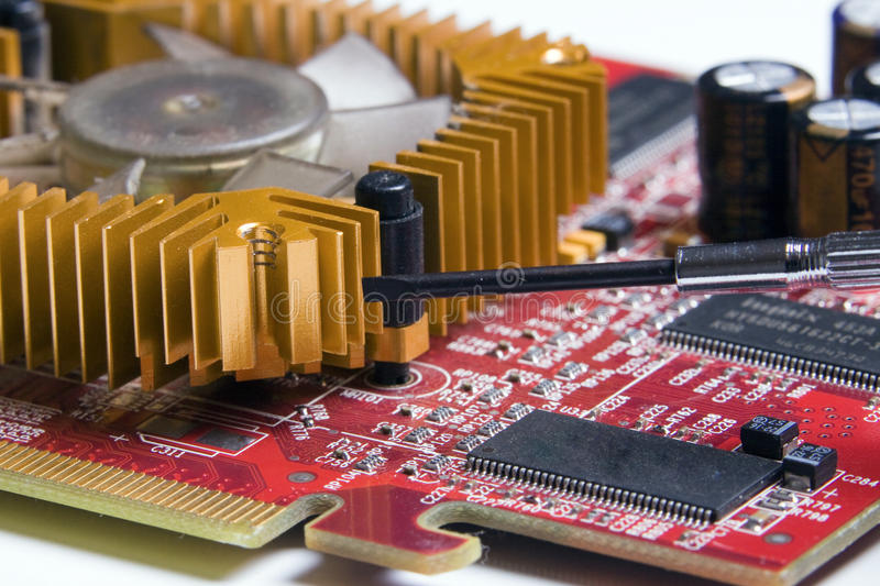 Download Circuit board stock photo. Image of diode, card, components - 30065128