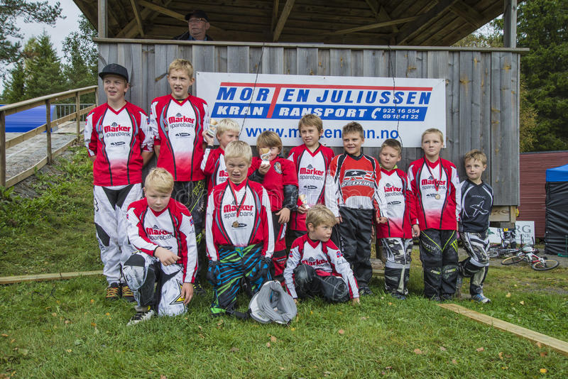 Download Circuit Championship In Bmx Cycling, Aremark And Halden BMX Team Editorial Image - Image: 36048260