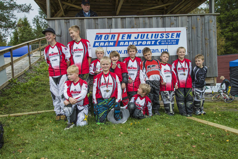 Download Circuit Championship In Bmx Cycling, Aremark And Halden BMX Team Editorial Image - Image of aremark, cycle: 36048765