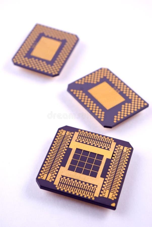 Circuit Chips stock photos