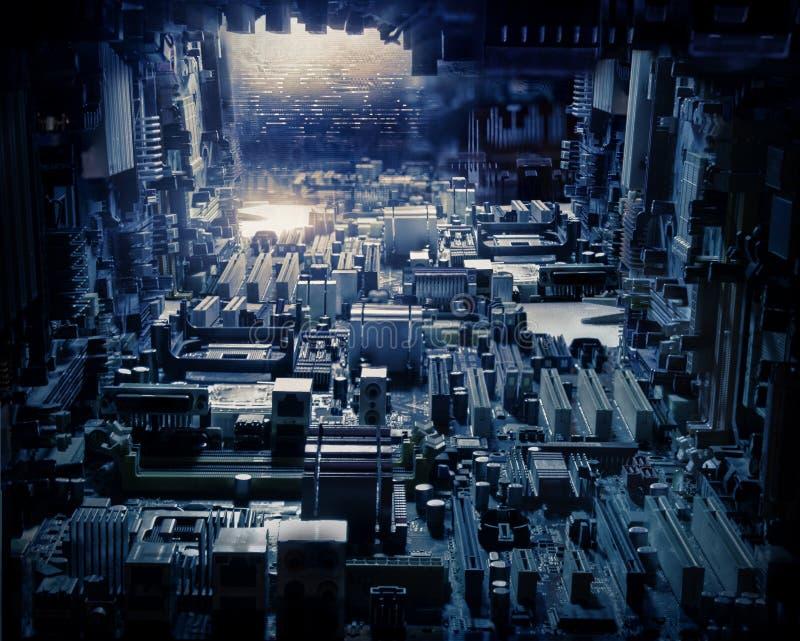 Circuit City arkivfoton