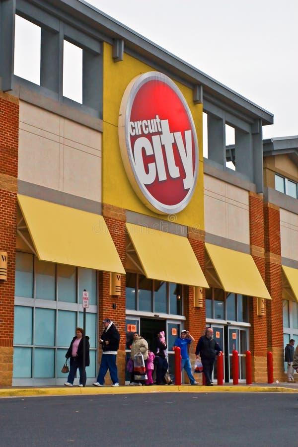 Circuit City - WinchesterClosing lizenzfreies stockfoto