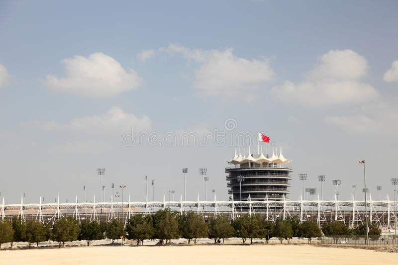 Circuit d'International du Bahrain images libres de droits