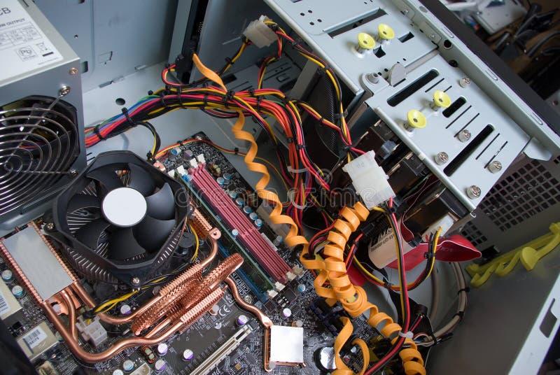 circuit de fond électronique photo stock
