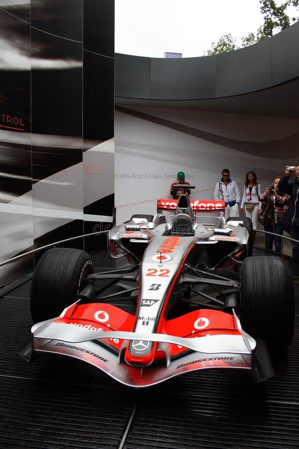 Circuit de la formule 1 de Monza Italie image stock
