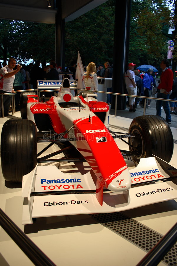Circuit de la formule 1 de Monza Italie photos stock