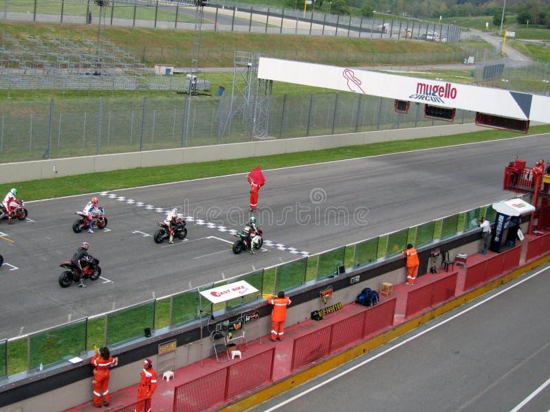 Circuit de Mugello photo libre de droits