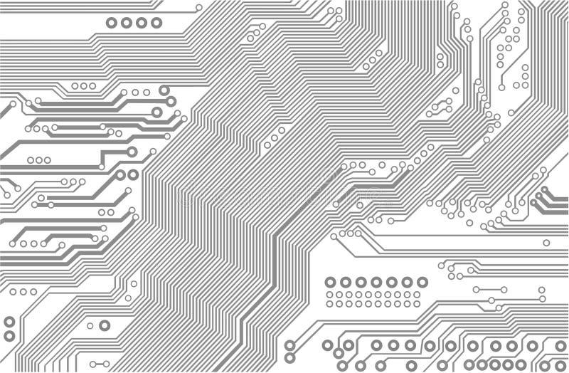 Circuit imprimé illustration stock
