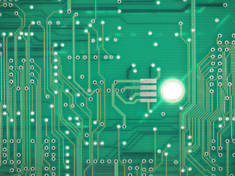 Circuit imprimé image libre de droits