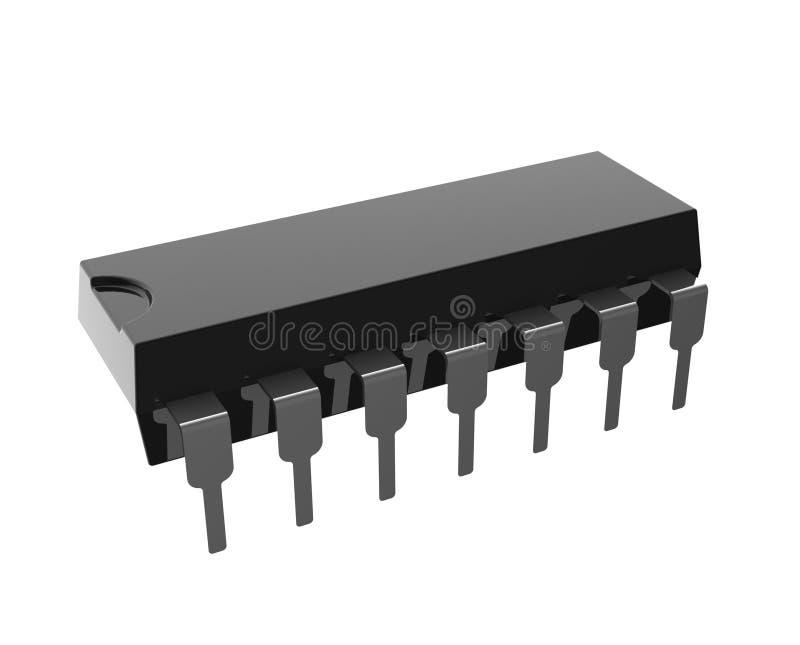 Circuit intégré illustration libre de droits