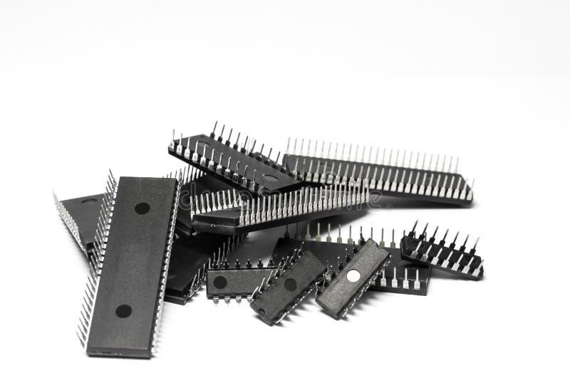 Circuit intégré photographie stock libre de droits
