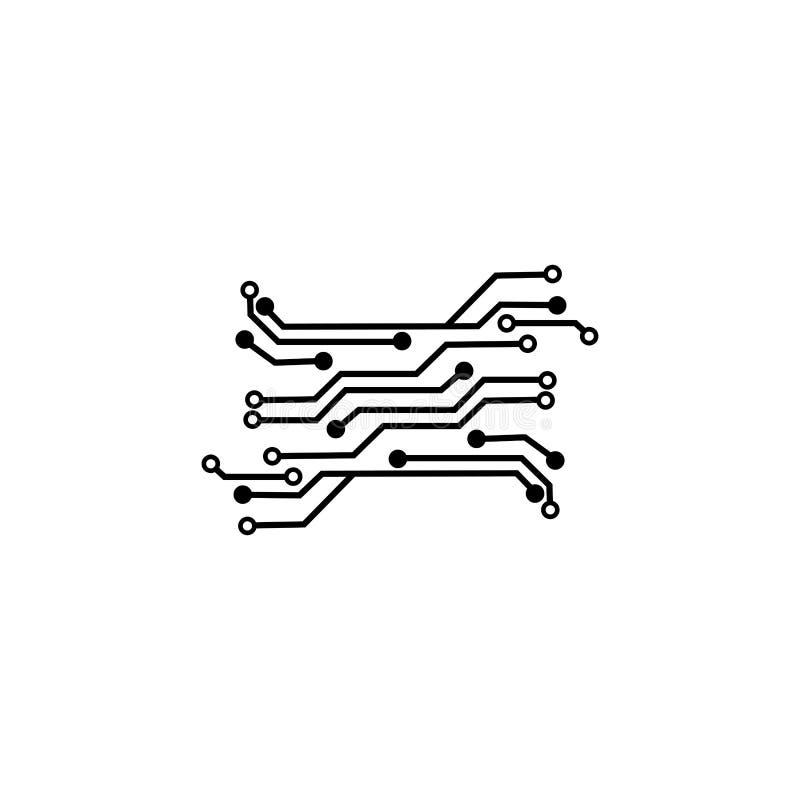 Circuit Logo Template vector stock photos