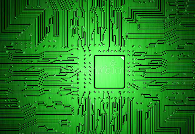 Download Circuit part stock image. Image of tech, data, processor - 25403423
