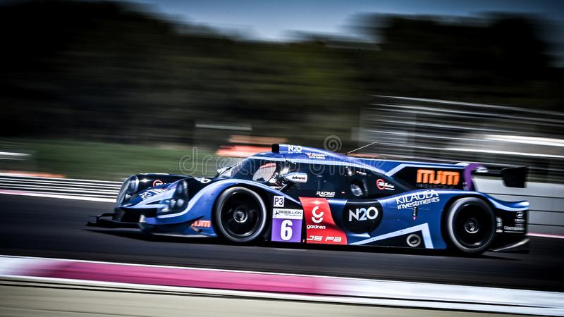 Circuit Paul Ricard, France, 13-14 April 2019, 4 hours of Castellet, Europeran Le Mans Series,  LMP3 N°6 - Ligier Nissan stock images