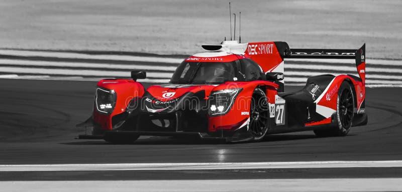 Circuit Paul Ricard, Francja, 13-14 kwietnia 2019 r., 4 godziny w Castellet obraz stock