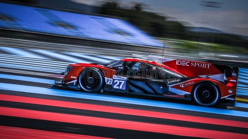 Circuit Paul Ricard, Francja, 13-14 kwietnia 2019 r., 4 godziny w Castellet zdjęcia stock