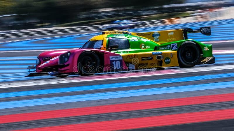 Circuit Paul Ricard, Francja, 13-14 kwietnia 2019 r., 4 godziny w Castellet zdjęcia royalty free