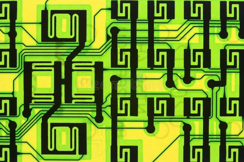 Circuit superbe d'omnibus de l'information photographie stock