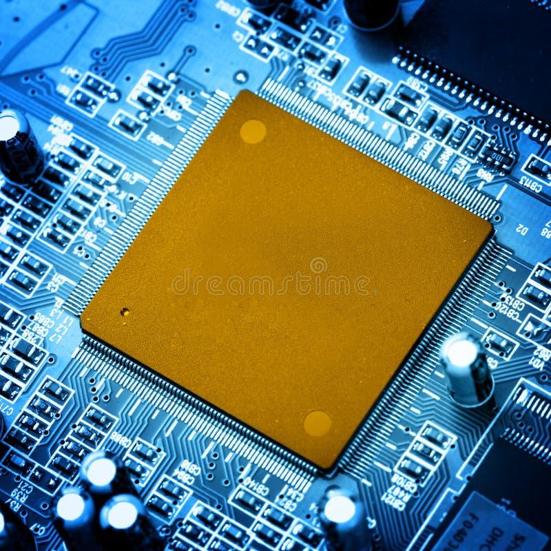 circuit tätt elektroniskt övre arkivbild