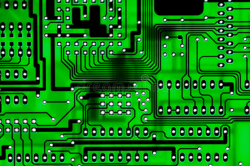 Circuitboard obrazy royalty free