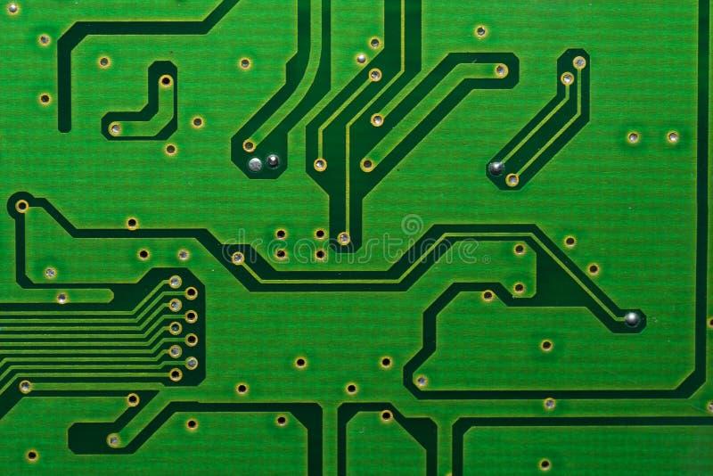 Circuitboard do computador fotografia de stock