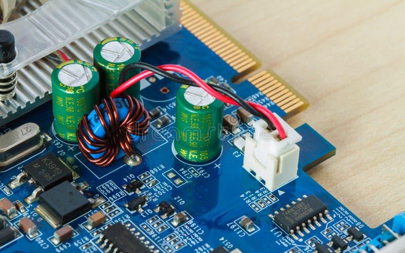 Circuiti elettronici fotografia stock