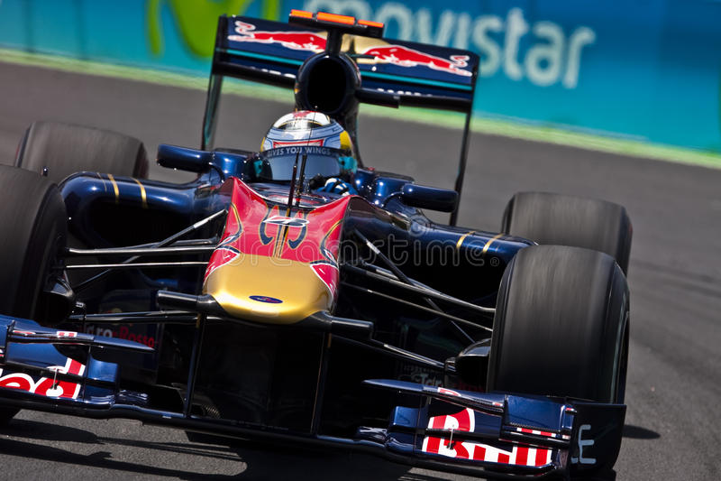 Circuito 2010 da rua de F1 Valença fotos de stock royalty free