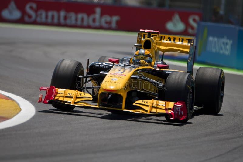 Circuito 2010 de la calle de F1 Valencia fotos de archivo libres de regalías