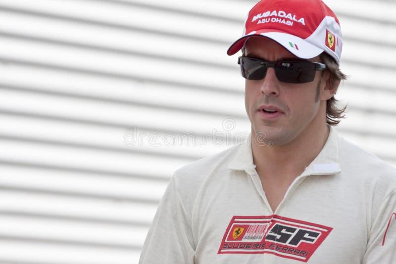 Circuito 2010 della via di F1 Valencia immagine stock