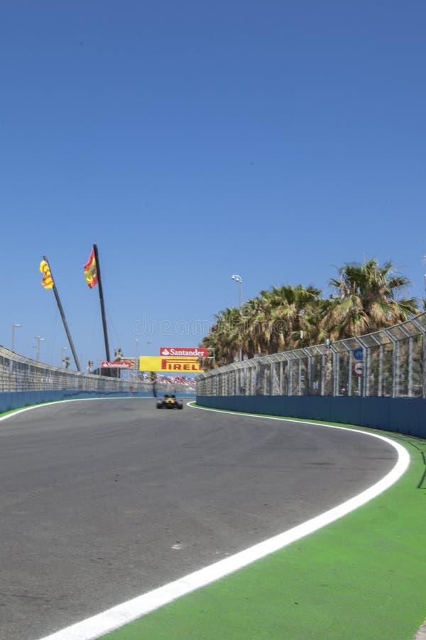 Circuito 2012 de la calle de Valencia imágenes de archivo libres de regalías