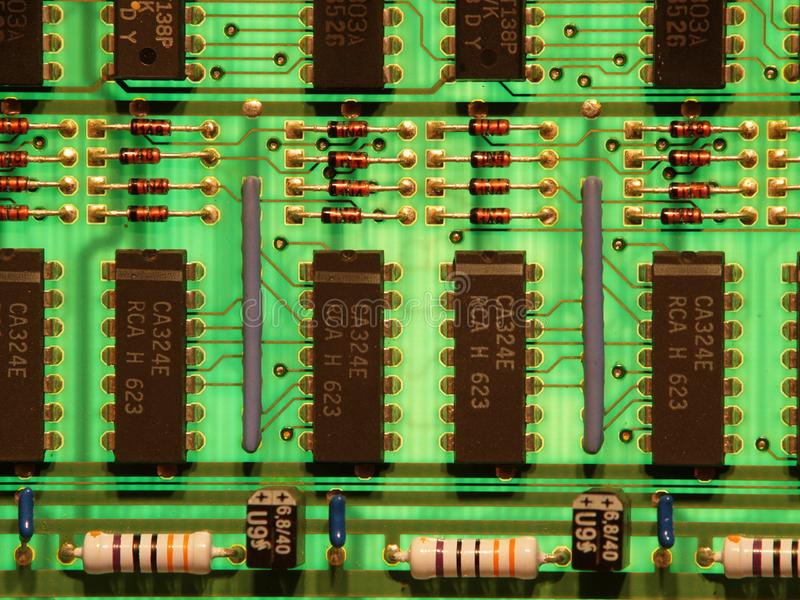 Circuito immagine stock