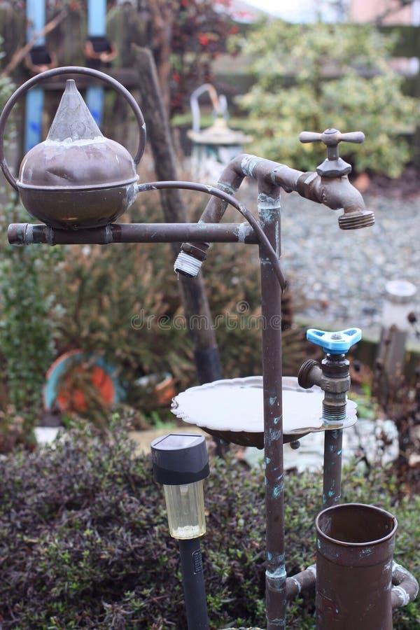 Circuito de agua enrollado fotografía de archivo libre de regalías