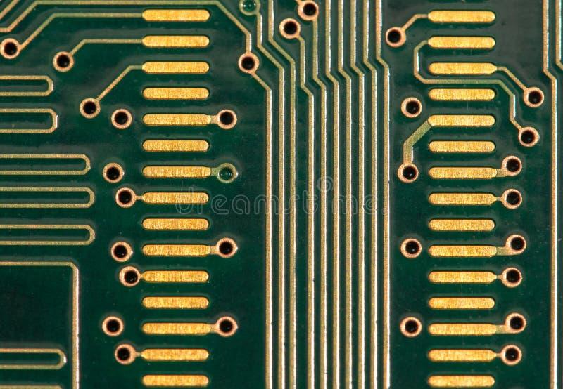 Circuito del computer fotografia stock