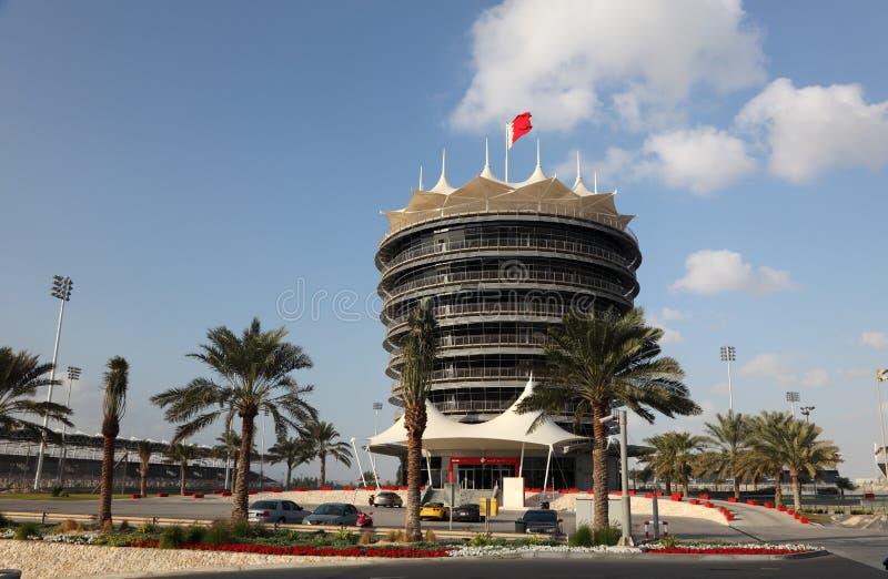 Circuito do International de Barém fotografia de stock royalty free