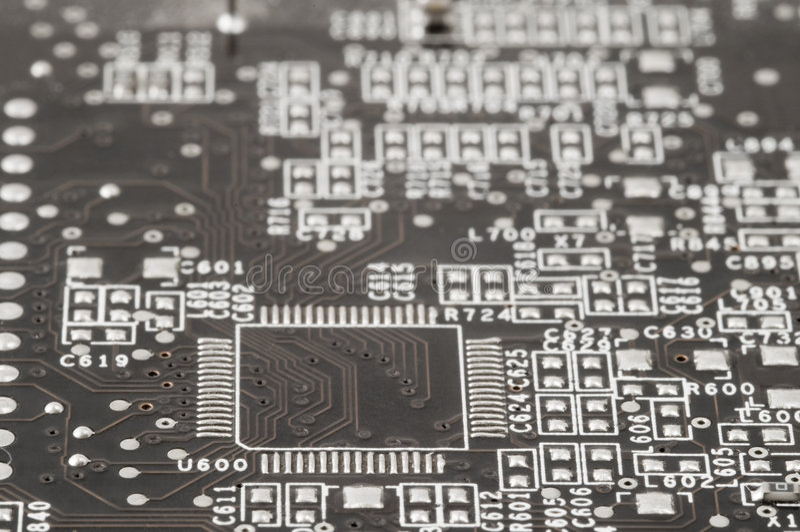 Download Circuito eléctrico imagen de archivo. Imagen de viruta - 7286781