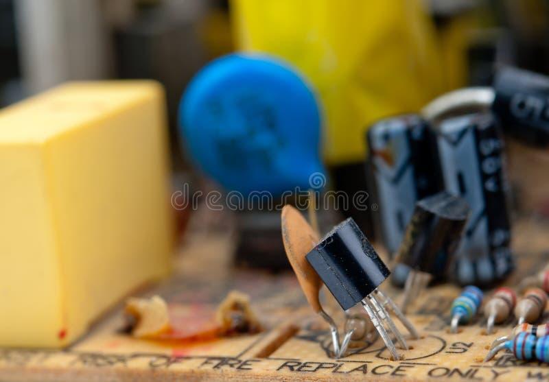Circuito elétrico fotos de stock royalty free