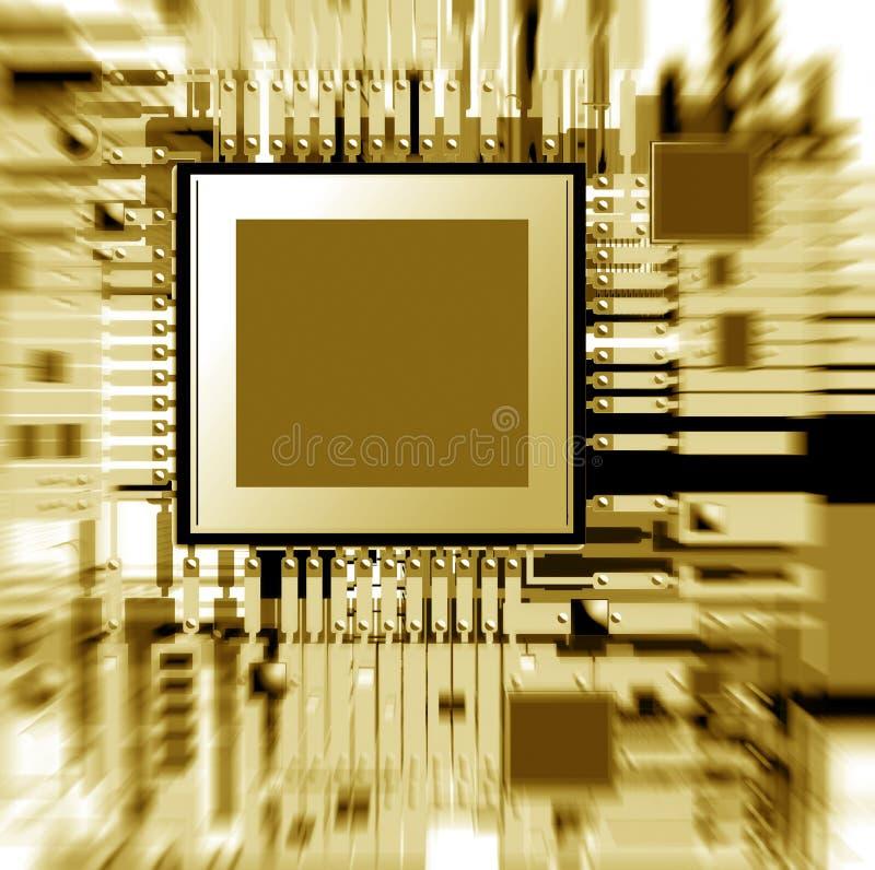 Circuito elettronico royalty illustrazione gratis