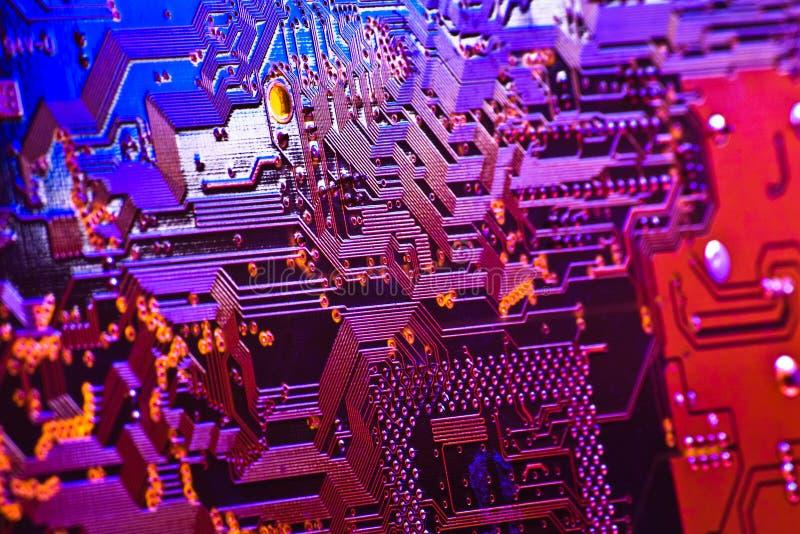 Circuito high-technology immagine stock