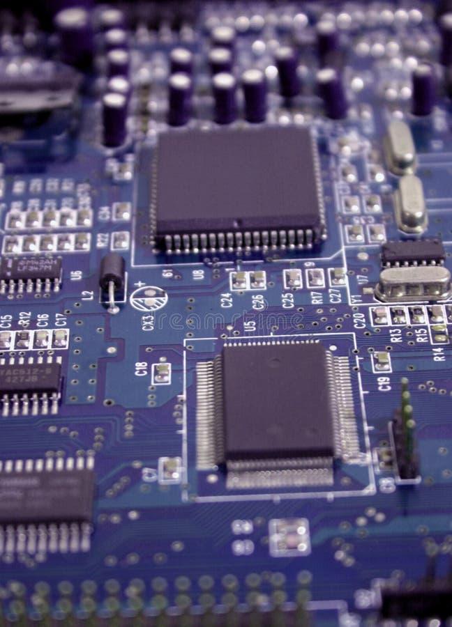 Circuito integrado 3 imagen de archivo