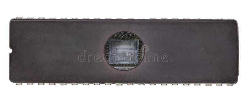 Circuito integrato di EEPROM fotografia stock libera da diritti